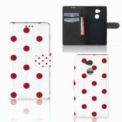 Sony Xperia XA2 Ultra Book Cover Cherries