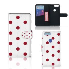 OnePlus 5T Book Cover Cherries