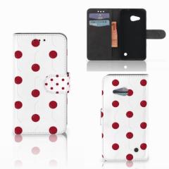 Microsoft Lumia 550 Book Cover Cherries