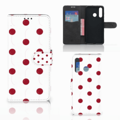 Huawei Nova 4 Book Cover Cherries