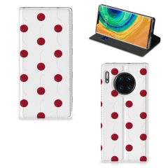 Huawei Mate 30 Pro Flip Style Cover Cherries