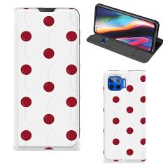 Motorola Moto G 5G Plus Flip Style Cover Cherries