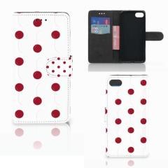 Huawei Y5 2018 Book Cover Cherries