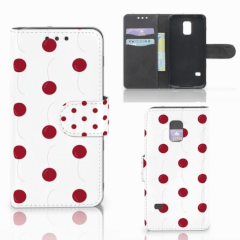Samsung Galaxy S5 Mini Book Cover Cherries