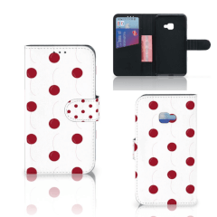 Samsung Galaxy Xcover 4   Xcover 4s Book Cover Cherries
