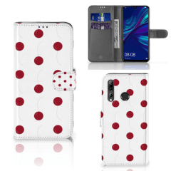 Huawei P Smart 2019 Book Cover Cherries