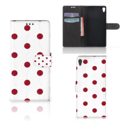 Sony Xperia XA Ultra Book Cover Cherries