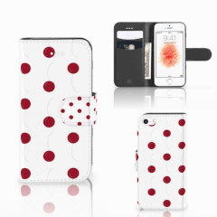 Apple iPhone 5 | 5s | SE Book Cover Cherries
