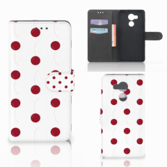 Huawei Mate 8 Book Cover Cherries