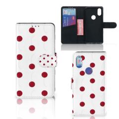 Xiaomi Mi Mix 2s Book Cover Cherries