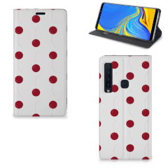Samsung Galaxy A9 (2018) Flip Style Cover Cherries