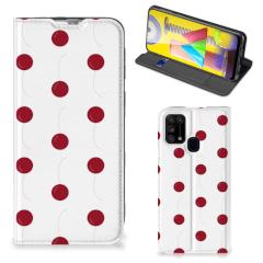Samsung Galaxy M31 Flip Style Cover Cherries