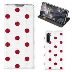 OnePlus Nord Flip Style Cover Cherries