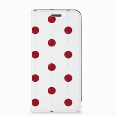 Motorola Moto E5 Play Flip Style Cover Cherries