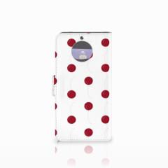 Moto G5S Book Cover Cherries