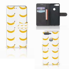 Huawei Y7 2018 Book Cover Banana