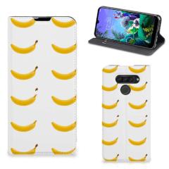 LG Q60 Flip Style Cover Banana