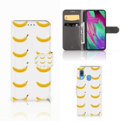 Samsung Galaxy A40 Book Cover Banana