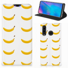 Huawei P30 Lite New Edition Flip Style Cover Banana