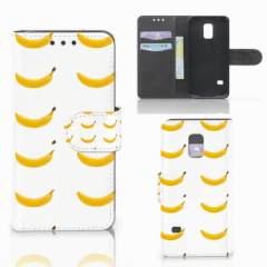 Samsung Galaxy S5 Mini Book Cover Banana