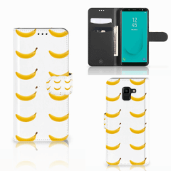 Samsung Galaxy J6 2018 Book Cover Banana