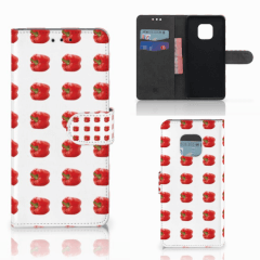 Huawei Mate 20 Pro Book Cover Paprika Red