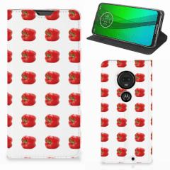 Motorola Moto G7   G7 Plus Flip Style Cover Paprika Red
