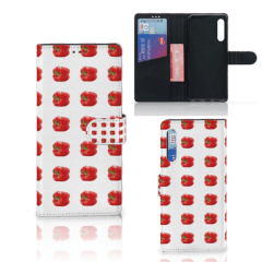 Huawei P Smart Pro Book Cover Paprika Red