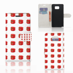 Samsung Galaxy Note 5 Book Cover Paprika Red