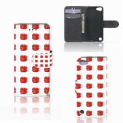 Apple iPod Touch 5   6   iPod (2019) Book Cover Paprika Red