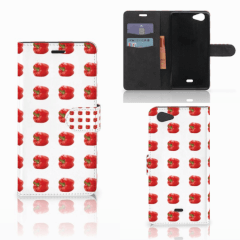 Wiko Pulp Fab 4G Book Cover Paprika Red