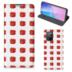 Samsung Galaxy S10 Lite Flip Style Cover Paprika Red