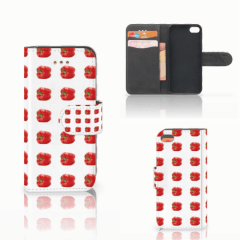 Apple iPhone 5C Book Cover Paprika Red