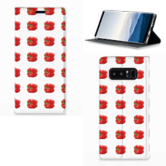 Samsung Galaxy Note 8 Flip Style Cover Paprika Red