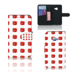 Samsung Galaxy Xcover 4   Xcover 4s Book Cover Paprika Red