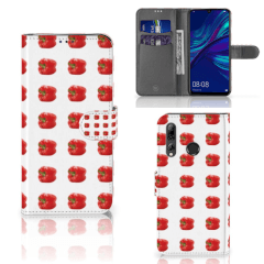 Huawei P Smart 2019 Book Cover Paprika Red
