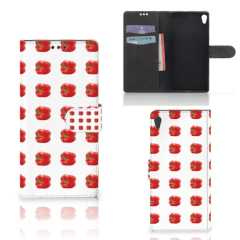 Sony Xperia XA Ultra Book Cover Paprika Red