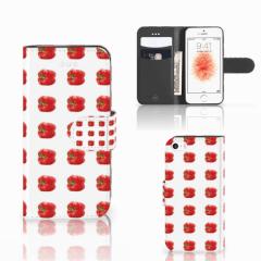 Apple iPhone 5 | 5s | SE Book Cover Paprika Red