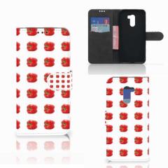 Xiaomi Pocophone F1 Book Cover Paprika Red