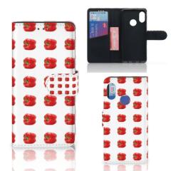 Xiaomi Mi A2 Lite Book Cover Paprika Red
