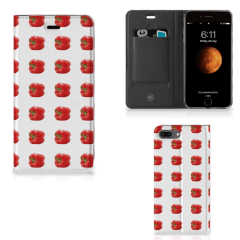 Apple iPhone 7 Plus | 8 Plus Flip Style Cover Paprika Red