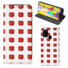 Samsung Galaxy M31 Flip Style Cover Paprika Red