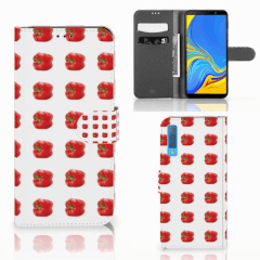 Samsung Galaxy A7 (2018) Book Cover Paprika Red