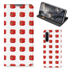OnePlus Nord Flip Style Cover Paprika Red