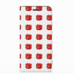 Motorola Moto E5 Play Flip Style Cover Paprika Red