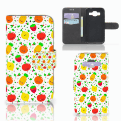 Samsung Galaxy Core Prime Book Cover Fruits