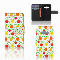 Samsung Galaxy Trend 2 Book Cover Fruits