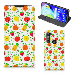 Motorola Moto G8 Power Flip Style Cover Fruits