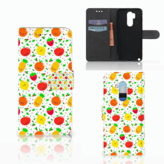 LG G7 Thinq Book Cover Fruits