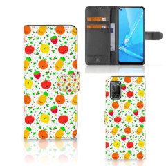 OPPO A72 | OPPO A52 Book Cover Fruits